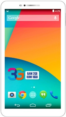 I Kall N8 New 16 GB 7 inch with Wi-Fi+3G Tablet (Gold)