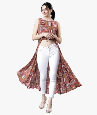 Tokyo Talkies Printed Women Tunic