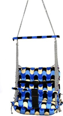 DD RETAIL Baby Bouncers Cotton Swing(Blue)