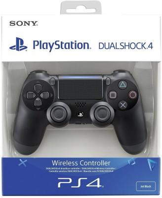 Sony Dualshock 4 Wireless Controller for Playstation 4 - Black V2  Joystick(Black, For PS4) at flipkart