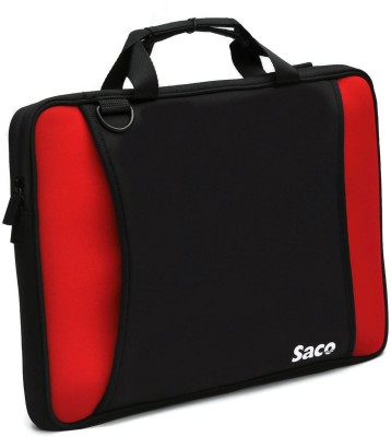 Saco 15.6 inch Expandable Sleeve/Slip Case Red, Black
