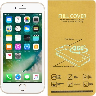 CRodible Front and Back Screen Guard for Apple iPhone 6 (Gold, 16 GB)(Pack of 1)
