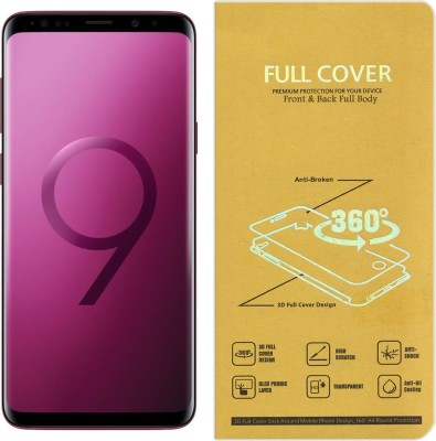 CRodible Front and Back Screen Guard for Samsung Galaxy S8 Plus (Maple Gold, 64 GB) (4 GB RAM)(Pack of 1)