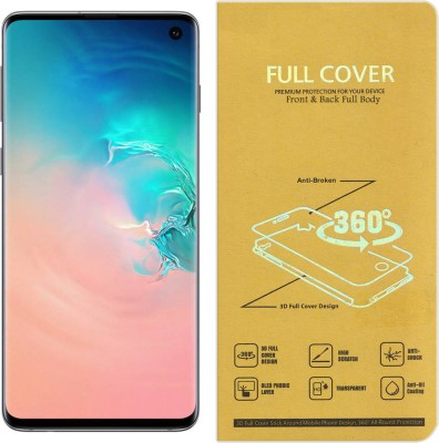 CRodible Front and Back Screen Guard for Samsung Galaxy S9 (Midnight Black, 128 GB) (4 GB RAM)(Pack of 1)