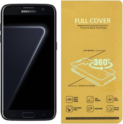 Roxel Front and Back Screen Guard for Samsung S7 Edge (Black Pearl, 128 GB) (4 GB RAM)(Pack of 1)