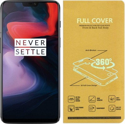Roxel Front and Back Screen Guard for OnePlus 6 (Midnight Black, 8GB RAM, 256GB Storage).jpg(Pack of 1)