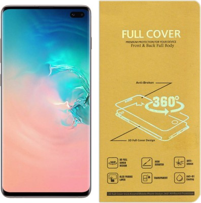 Roxel Front and Back Screen Guard for Samsung Galaxy S9 Plus (Coral Blue, 128 GB) (6 GB RAM)(Pack of 1)