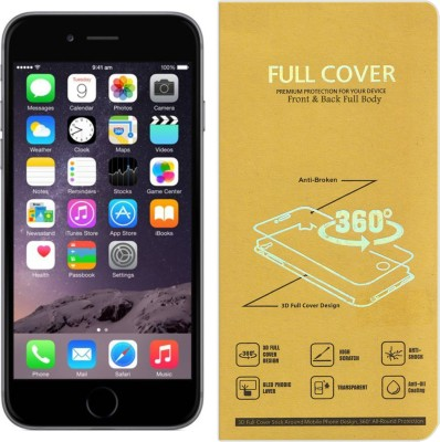 CRodible Front and Back Screen Guard for Apple iPhone 6(Pack of 1)