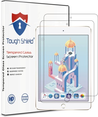 TOUGH SHIELD Tempered Glass Guard for Apple iPad mini (2019) ,ipad mini 5 (7.9 Inch Screen Size)(Pack of 2)