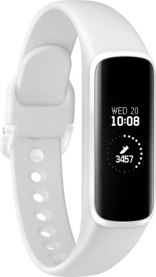 Samsung Galaxy Fit e Smart Band(White Strap, Size : Regular)