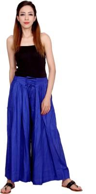 Rama Regular Fit Women Blue Trousers at flipkart