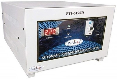 PULSTRON PTI 5190D 5 KVA  190V 300V  Single Phase Automatic Mainline Voltage Stabilizer Light Grey