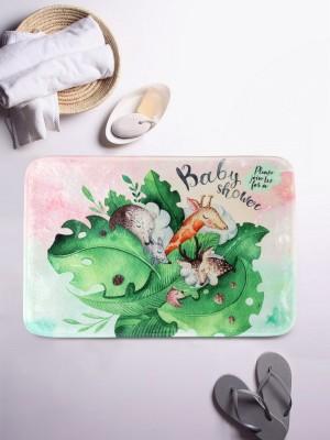 Cortina Microfiber Baby Bath Mat Multicolor, Large
