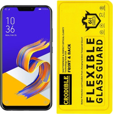 CRodible Front and Back Screen Guard for Asus ZenFone 5Z (Midnight Blue, 256 GB) (8 GB RAM)(Pack of 1)