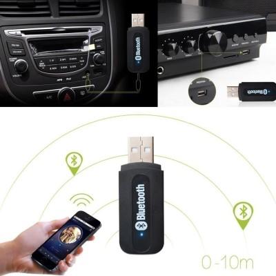 GadgetX v4.0 Car Bluetooth Device with Audio Receiver(Black)