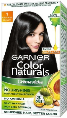 Garnier Color Naturals Creme Hair Color(Shade 1, Natural Black)