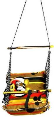 DD RETAIL Baby Cotton Swing Cotton Swing(Yellow)