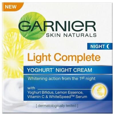 Garnier Skin Naturals Light Complete Night Cream(40 g)