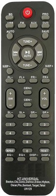 LipiWorld UN129 Home Theater System Remote Control Compatible for UN129 Beston Remote Controller(Black)