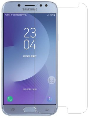Case Creation Tempered Glass Guard for Samsung Galaxy J7 Duo J720F(Pack of 1)