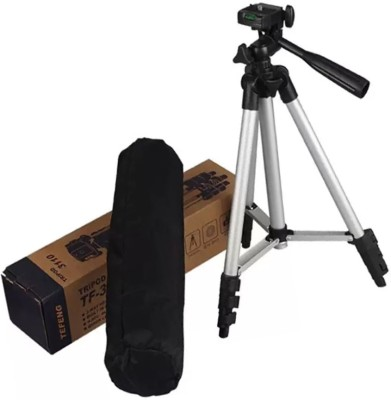 LIFEMUSIC Tripod 3110 Portable and flexible Tripod(Silver, Supports Up to 3000 g)