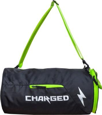 CHARGED Bueno Multipurpose bag Gym Bag(Black)