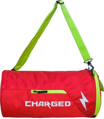CHARGED Bueno Multipurpose bag Gym Bag(Red)