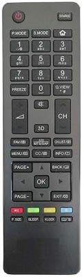 LipiWorld LCD LED TV Remote Control Compatible with HTR-A18H  Haier Remote Controller(Black)