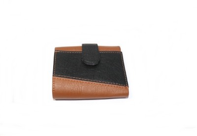 BP Man Men Brown Artificial Leather Wallet 7 Card Slots