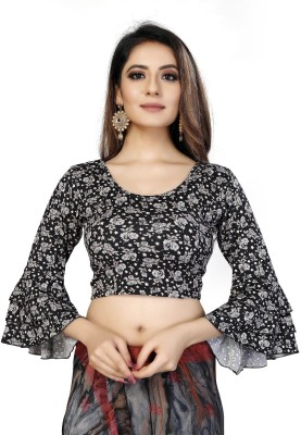 Sanmati Creation Round Neck Women Blouse
