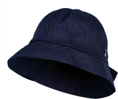 ZACHARIAS Fishermen Bucket Beach Hat Cap(Dark Blue, Pack of 1)