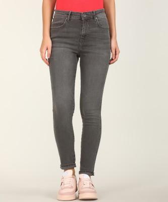Wrangler Skinny Women Grey Jeans at flipkart