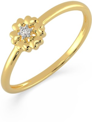 Malabar Gold and Diamonds AJRRNG7334 18kt Diamond Yellow Gold ring