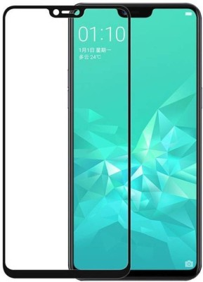 HOBBYTRONICS Edge To Edge Tempered Glass for REAL ME 3 PRO(Pack of 1)