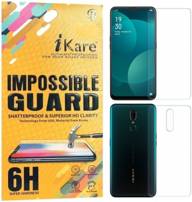 iKare Front and Back Screen Guard for OPPO F11(Pack of 2)