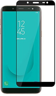 CellRize Edge To Edge Tempered Glass for Samsung Galaxy J8(Pack of 1)