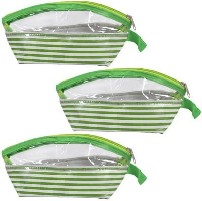 Pretty Krafts B1144_Green3 Travel Toiletry Kit Green