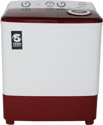 Godrej 6.5 kg Semi Automatic Top Load White, Maroon WS EDGE DX 650 CPBT Godrej Washing Machines