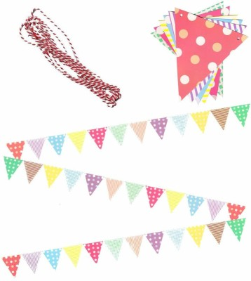 Futurekart Party Bunting Flags Banner Banner(124 ft, Pack of 1)