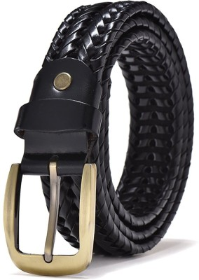 ZOROMen Casual Black Genuine Leather Belt ZORO Belts