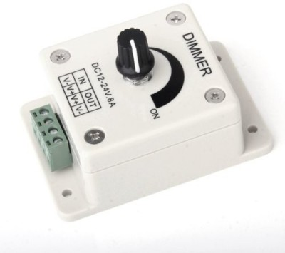 SUKHAD Switch Brightness Controller 8 A Step Dimmer(White)