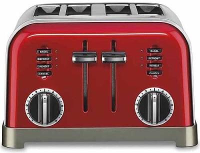 Cuisinart 0UDSZVNJULDG 500 W Pop Up Toaster(Red)
