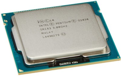 Intel 3 GHz LGA 1155 Dual-Core Processor G2030 Processor(Silver) at flipkart