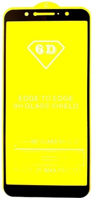 Express Buy Edge To Edge Tempered Glass for Asus Zenfone Max Pro M1  (9H Tempered Glass) (6D Premium Full Glue Tempered Glass )(9H Glass)(Pack of 1)