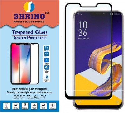 SHRINO Edge To Edge Tempered Glass for Tempered Glass Screen Protector for Asus Zenfone 5Z