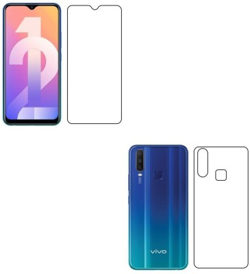 Sajni Creations Front and Back Screen Guard for Vivo Y12