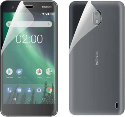 QuikDeal Front and Back Screen Guard for NOKIA X5(Pack of 1)