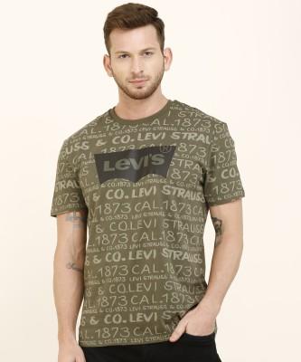 LEWEL Solid Men Hooded Neck Green, White, Black T-Shirt