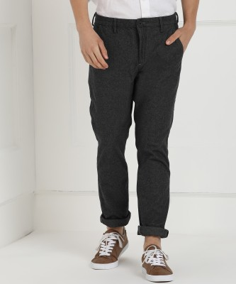Calvin Klein Jeans Regular Fit Men Grey Trousers at flipkart
