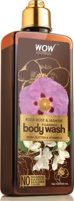 WOW Skin Science Rock Rose & Jasmine Foaming Body Wash